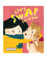 Let's Swap for a Day (hardcover) Trade Book