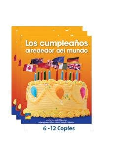 Los cumpleaños alrededor del mundo - 6-Pack