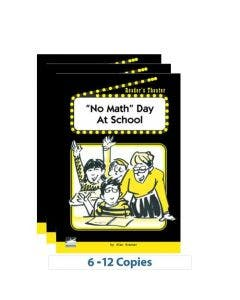 """""""No Math"""" Day at School - 6-Pack"""