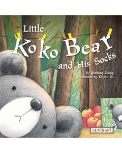 Little Koko Bear and His Socks (hardcover) Trade Book