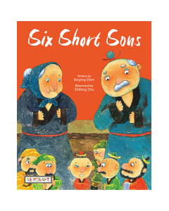 Six Short Sons (hard cover) Trade Book