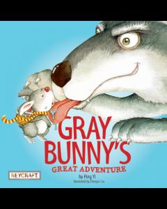 Gray Bunny's Great Adventure (hardcover) Trade Book