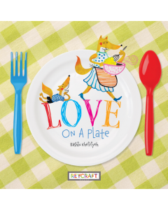 Love on a Plate (hardcover) Trade Book