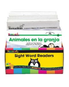 Spanish Sight Word Readers Science Collection