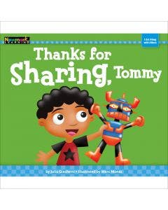 Thanks for Sharing, Tommy Lap Book with Teacher Guide