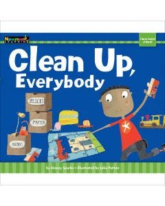Clean Up, Everybody Lap Book with Teacher Guide