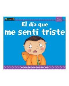 El día que me sentí triste Lap Book with Teacher Guide
