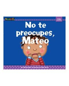 No te preocupes, Mateo Lap Book with Teacher Guide
