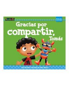 Gracias por compartir, Tomás Lap Book with Teacher Guide