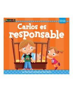 Carlos es responsable Lap Book with Teacher Guide