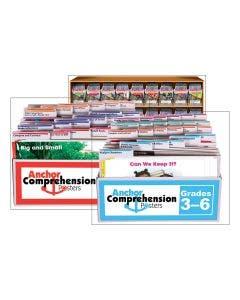 Anchor Comprehension Workshop Grade K-5 (A-U) Book & Poster Set with Online Subscription - 1 year