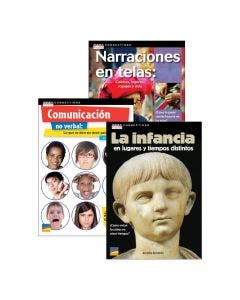 Spanish Text Connections Grades 3-6 Set with E-Book 1-Year Subscription