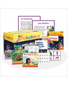 Soluciones Grade K with E-Book 1-Year Subscription