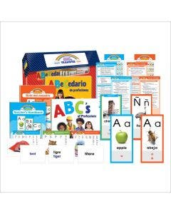 English/Spanish Sound-Spelling Transfer Kit Complete Program with 1-Year Subscription