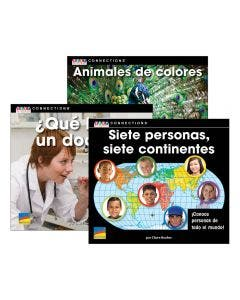 Spanish Text Connections Grade K Set with E-Book 1-Year Subscription