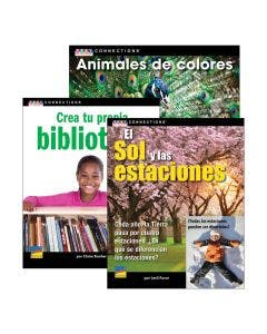 Spanish Text Connections Grades K-2 Set with E-Book 1-Year Subscription