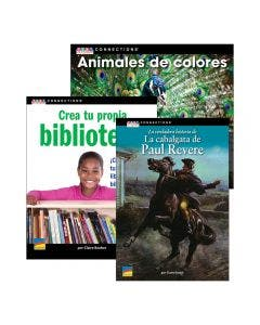 Spanish Text Connections Grades K-6 Set with E-Book 1-Year Subscription