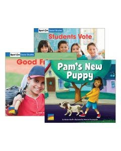 Spot On Social Studies Grade 1 Set with E-Book 1-Year Classroom Subscription