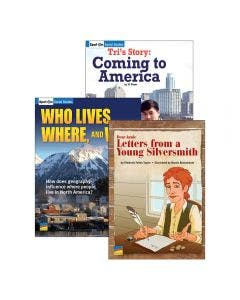 Spot On Social Studies Grade 5 Set with E-Book 1-Year Classroom Subscription