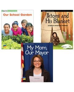 Gr. 2 Authentic Voices Bookroom with Prompting Card 1-Year Package Print and Digital