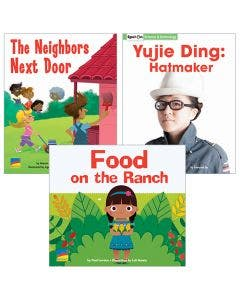 Gr. K-2 Authentic Voices Bookroom with Prompting Card 1-Year Package Print and Digital