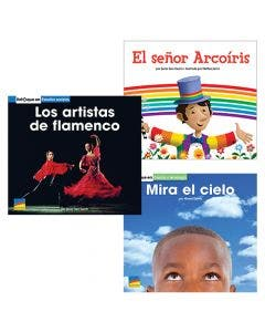 Gr. K Spanish Authentic Voices BookRoom with Prompting Card 1-Year Package Print and Digital