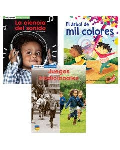 Gr. 1 Spanish Authentic Voices BookRoom with Prompting Card 1-Year Package Print and Digital