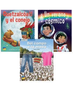 Gr. 2 Spanish Authentic Voices BookRoom with Prompting Card 1-Year Package Print and Digital