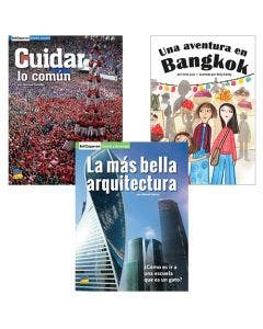 Gr. 3 Spanish Authentic Voices BookRoom with Prompting Card 1-Year Package Print and Digital