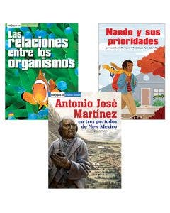 Gr. 5 Spanish Authentic Voices BookRoom with Prompting Card 1-Year Package Print and Digital