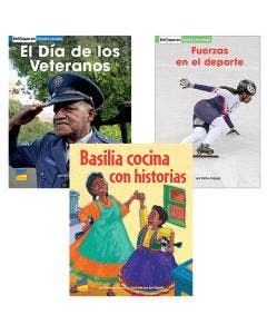 Gr. K-2 Spanish Authentic Voices BookRoom with Prompting Card 1-Year Package Print and Digital