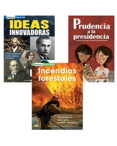 Gr. 3-5 Spanish Authentic Voices BookRoom with Prompting Card 1-Year Package Print and Digital