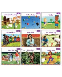 Gr. K Decodable Readers Single Copy Set - 39 Titles Print and Digital