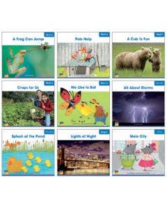Gr. 1 Decodable Readers Single Copy Set - 72 Titles Print and Digital