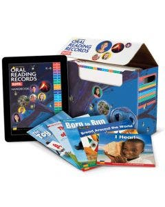 Oral Reading Records Suite Levels A-M Print and Digital (Up to 25 Students)