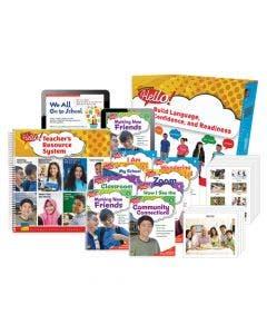 Hello! Gr. 3-5 Teacher Package Print and Digital 1-Year