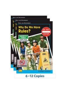 Why Do We Have Rules? Big Book w/TG