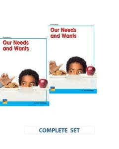 Our Needs and Wants Book Set