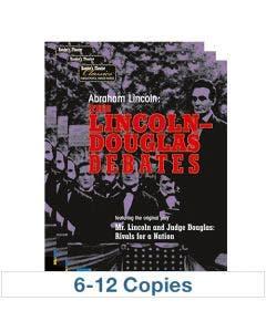 Abraham Lincoln, The Lincoln-Douglas Debates - 6-Pack