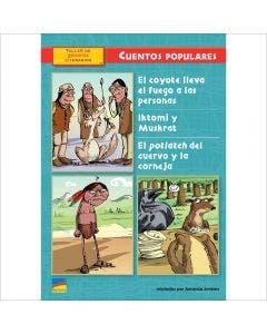 El coyote lleva el fuego a las personas, Iktomi y Muskrat, El potlatch del cuervo y la corneja - 6-Pack