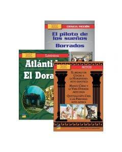 Spanish Upper Intermediate Grade 6 Leveled Books Set II