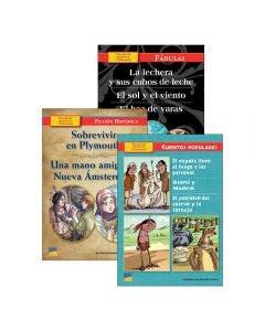 Spanish Intermediate Leveled Books Single Copy Set