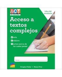 Spanish ACT Now! Gr. 5 6-Copy Consumables 1-Year