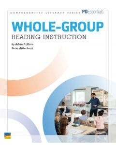 Whole-Group Reading Instruction Professional Development Book