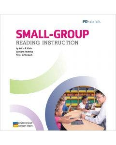 Small-Group Reading Instruction Professional Development Book