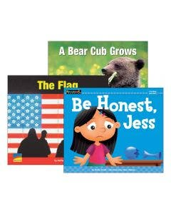 Guided Reading Strategy Identify Main Idea and Supporting Details Levels A-E Book Set