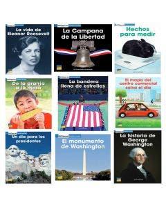 Spanish Spot On Social Studies Grade 1 Single-Copy Set
