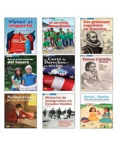 Spanish Spot On Social Studies Grade 5 Single-Copy Set